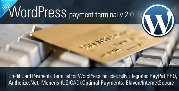 CodeCanyon Credit Card Payments Wordpress 462155
