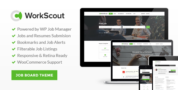 7 - WorkScout - Job Board WordPress Theme