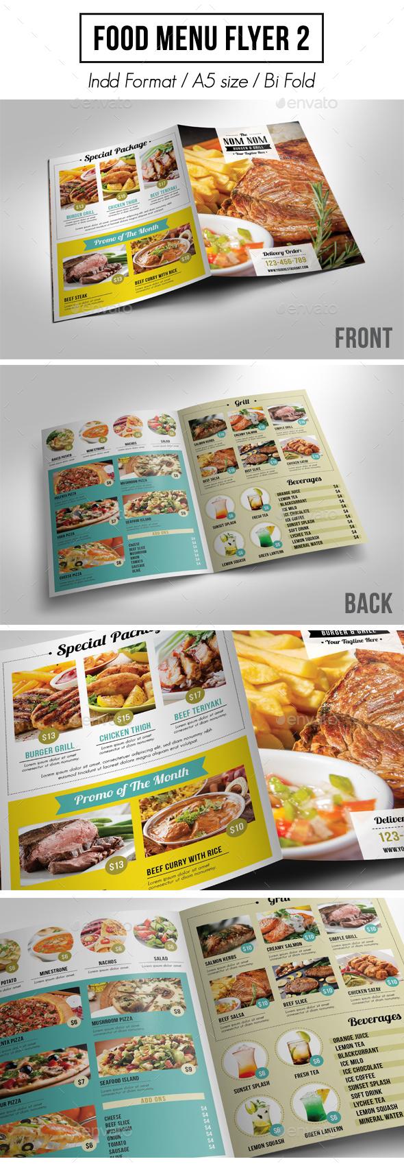 Food Menu Flyer 2