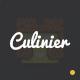 Culinier - Foods & Recipe Responsive Template