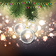 Christmas Bauble Background