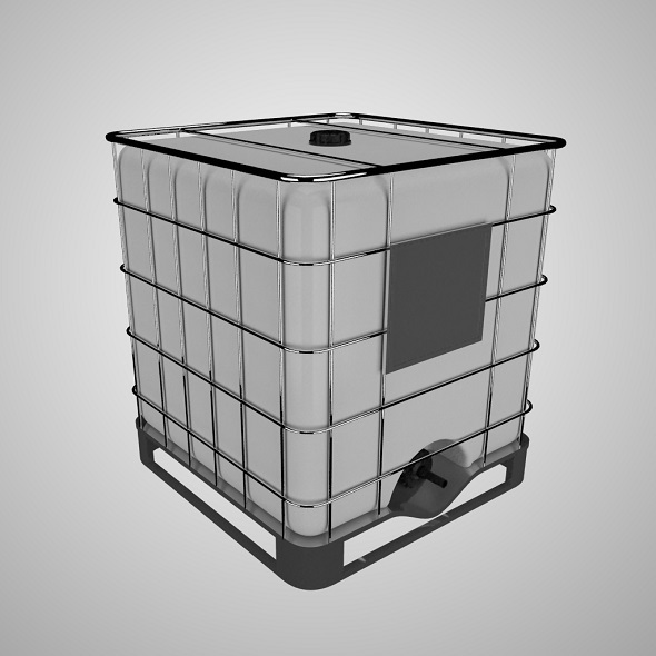 Water Storage Tank - 3DOcean Item for Sale
