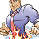 Fire Support Mascot - GraphicRiver Item for Sale