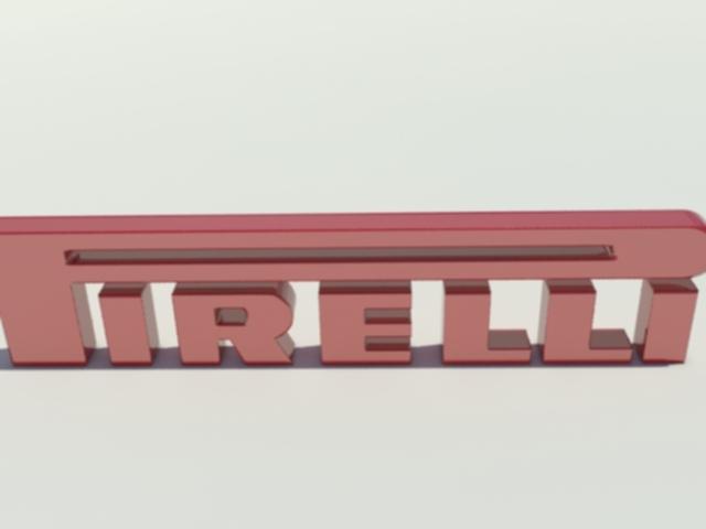 3DOcean Pirelli Logo 1360694