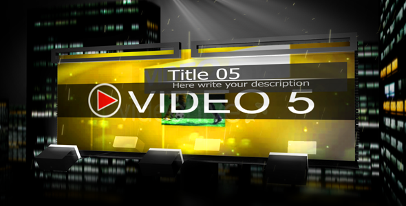 After Effects Project - VideoHive 3D MEDIA CITY 162747