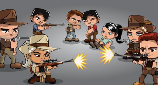 Adventurer Characters Spritesheets