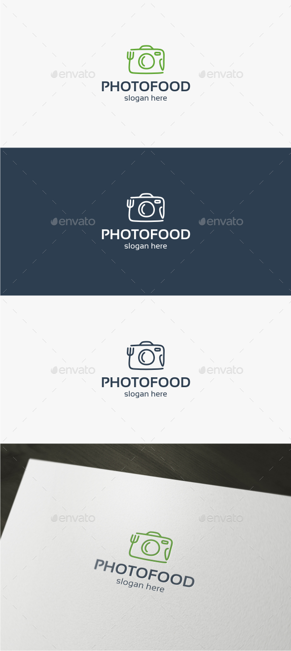 Photo Food - Logo Template