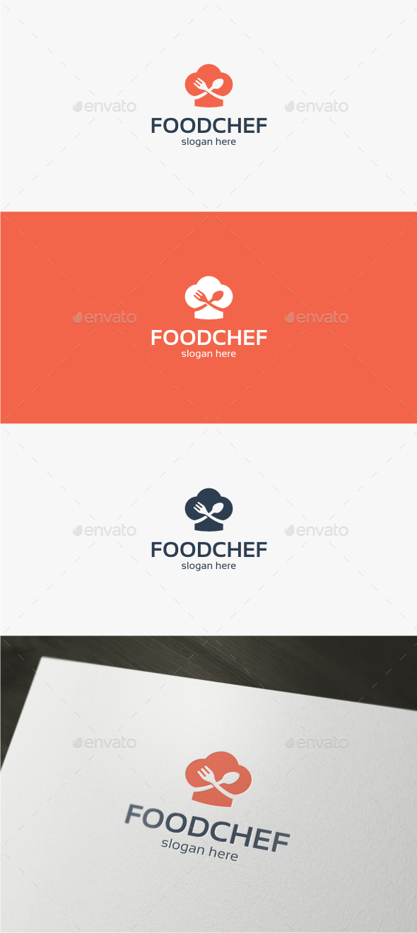 Food Chef - Logo Template