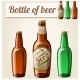 Bottle Of Beer. Detailed Vector Icon