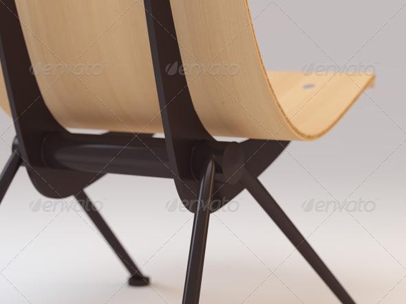 3DOcean Jean Prouve Antony Chair 162830