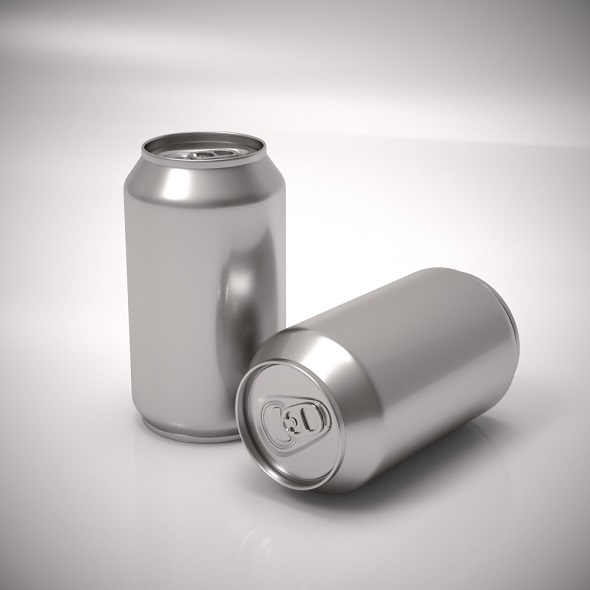 Aluminum soda can - 3DOcean Item for Sale