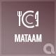 Mataam Restaurant - Responsive Wordpress Theme