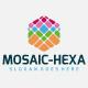 Mosaic Hexa Logo