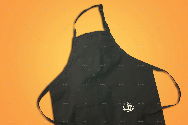 White apron mockup free - Preview Image Set Apron Jpg