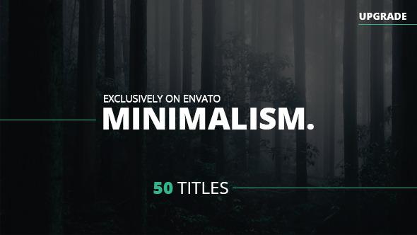 پروژه افتر افکت Minimalism ( تایپو گرافی )