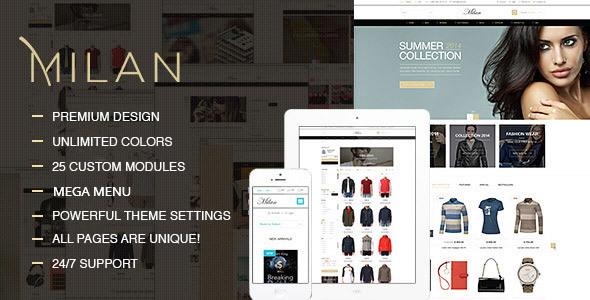 Milan – Fashion Clothes Shop Prestashop Theme (Fashion) Download