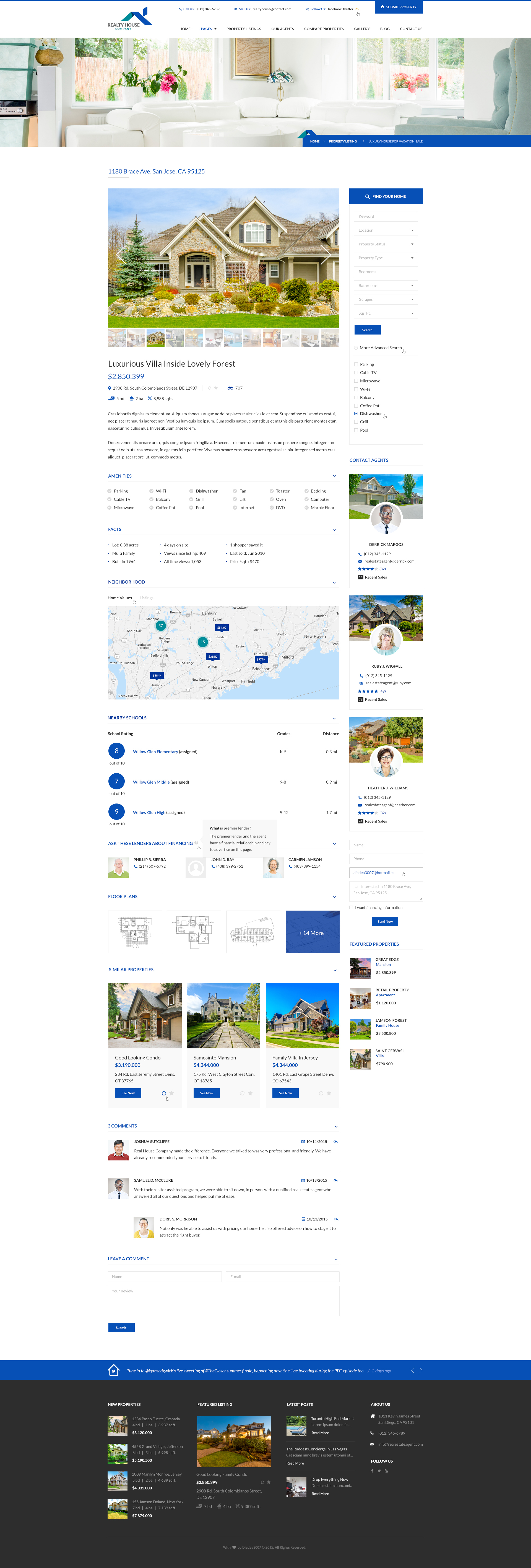 realty house real estate psd template by diadea themeforest 10 property listing single post jpg