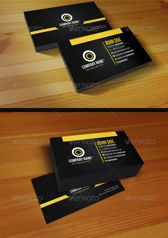 GraphicRiver Creative Business Card 1333195