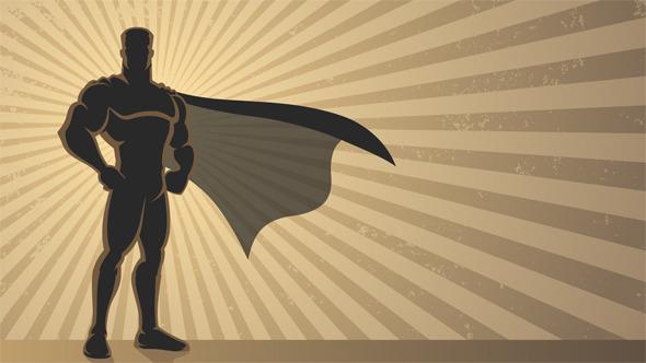 Superhero Background By Malchev Videohive