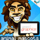 10 Cartoon Animal Mascots with Tablet or Screen - GraphicRiver Item for Sale