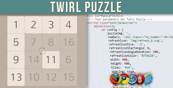 Twirl Puzzle (Images and Media) images