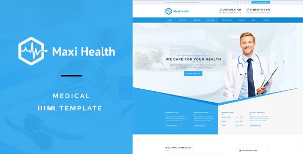 Maxi Health : Medical & Health HTML Template