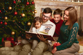 Christmas family reading