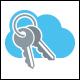 Key Cloud Logo Template
