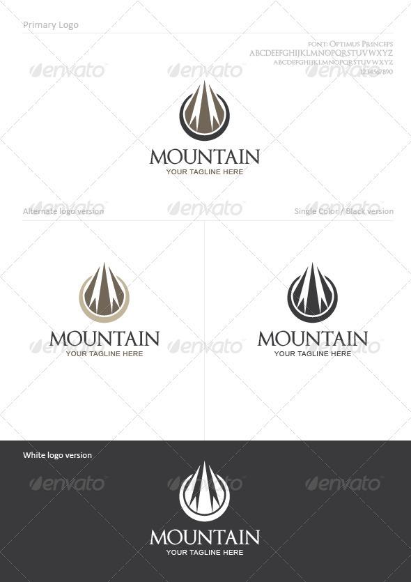GraphicRiver Mountain 1363257