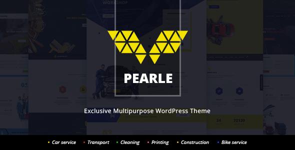 Pearle - Multipurpose Service & Shop WP Theme