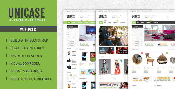 Download Unicase - Electronics Store WooCommerce Theme nulled download
