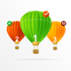 Infographics Air Balloons