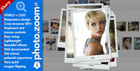 Ion.PhotoZoom. jQuery Lightbox Plugin (Images and Media) images