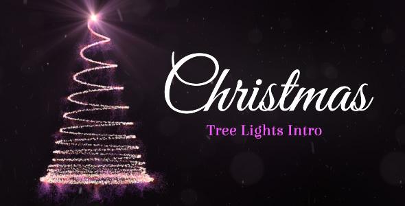 Christmas Tree Lights Intro