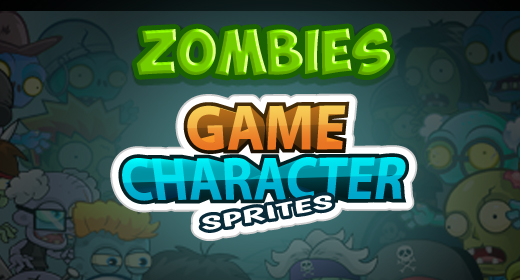 Zombies Characters Sprites