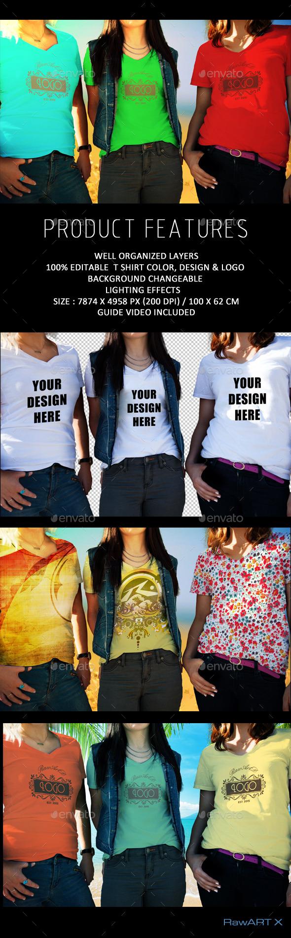 T shirt Mock-up