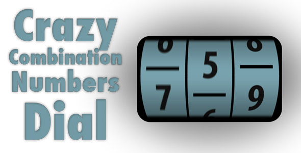 Crazy Combination Numbers Dial