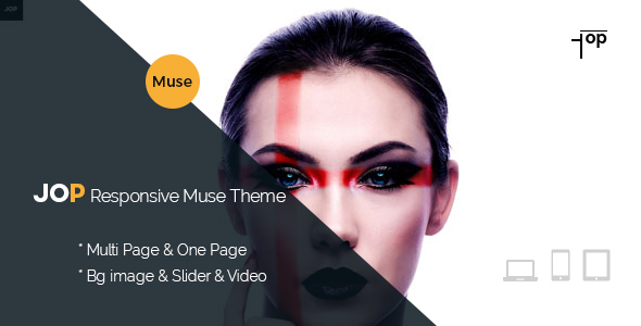 Jop Creative Responsive Muse Template
