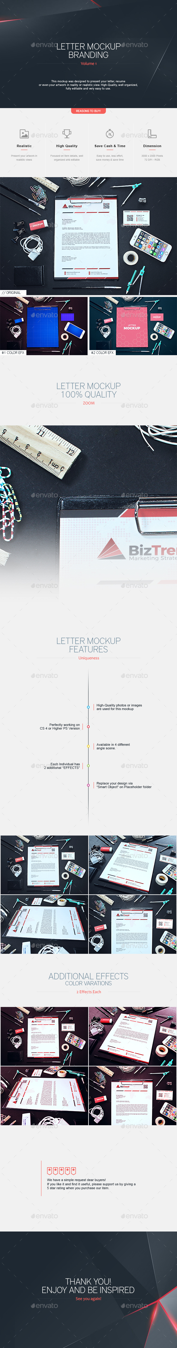 Letter Mock-up Branding V.1 (Stationery)