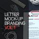 Letter Mock-up Branding V.1