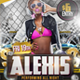 Roller - Hip Hop style PSD Party Flyer Template