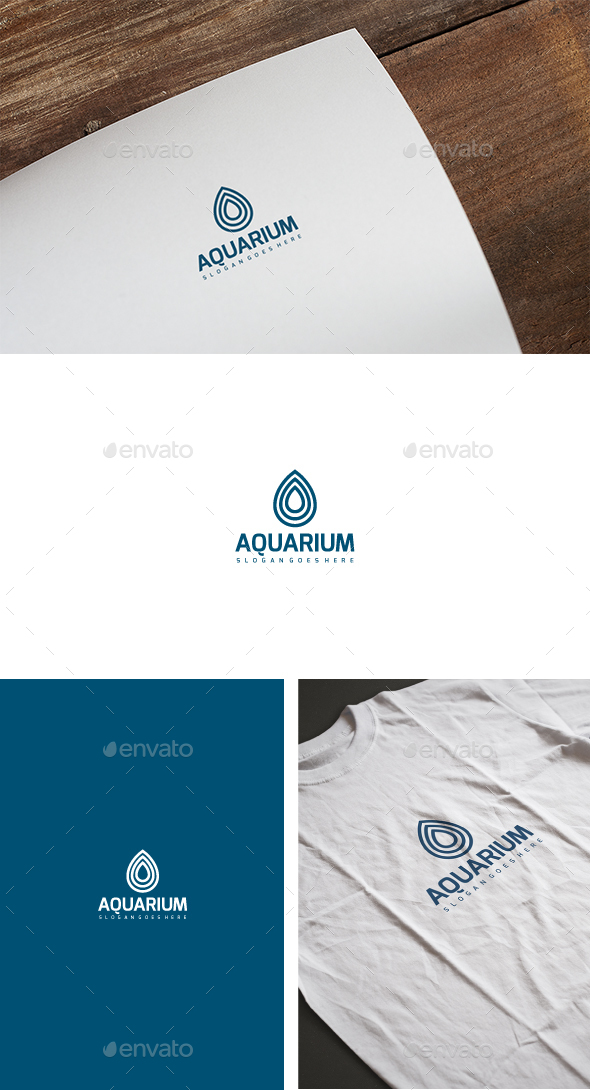 Aquarium Drop Logo