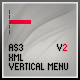 AS3 XML MENU [ VERTICAL ] - V2 - ActiveDen Item for Sale