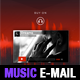 Dj Music Promo PSD E-mail Template