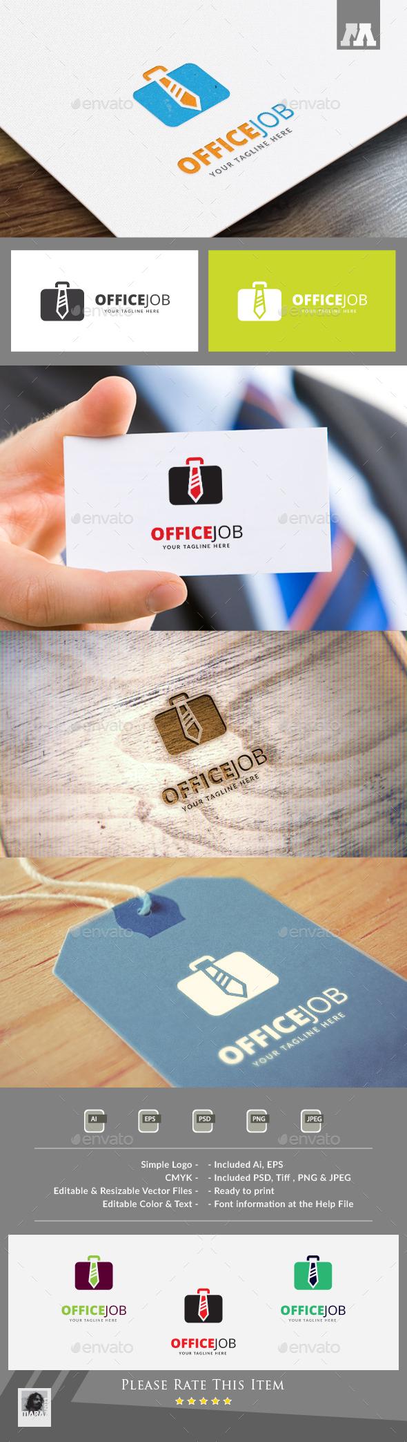Office Job Logo