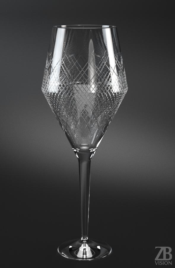 Bordeaux Glass - 3DOcean Item for Sale