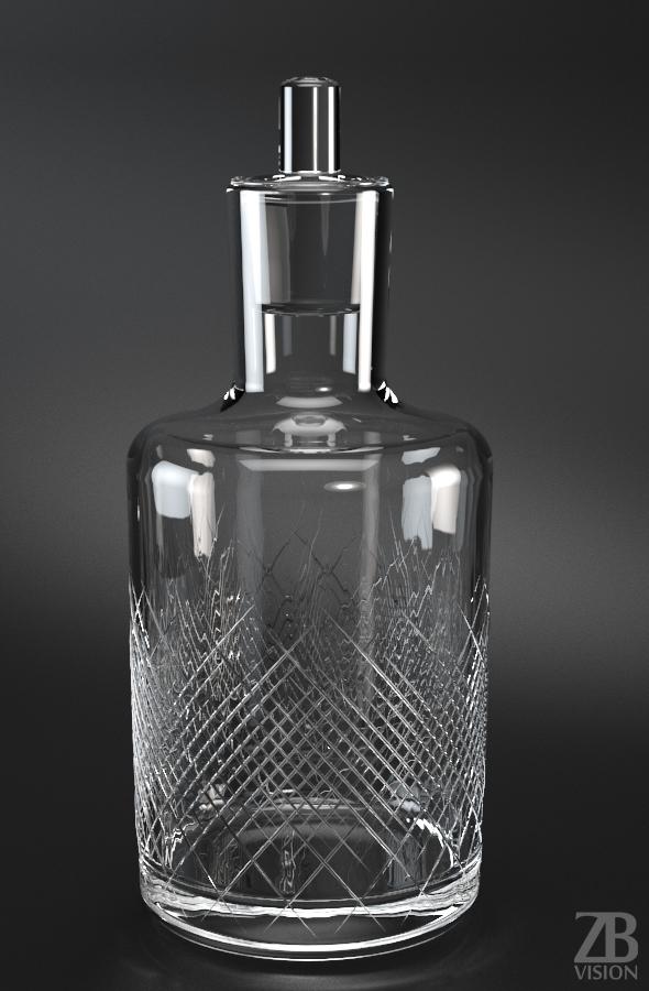 Whisky Carafe - 3DOcean Item for Sale
