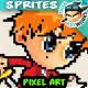 Pixel Art Game Character Sprites 01
