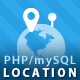 PHP mySQL User Location