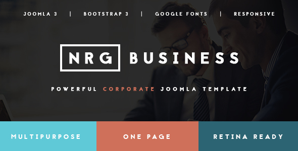 Image of NRGbusiness - Corporate Template for Innovators